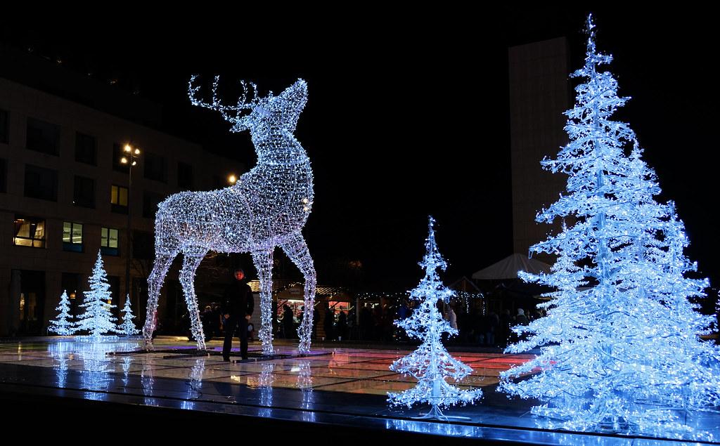 Holiday spirits in Bratislava, Slovakia
