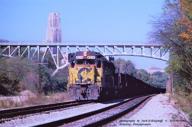 Ches CO 4214, Schenley, PA. 10-30-1990