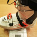 Na váze je samostatný skelet bez vnitřní botičky, jak vidno, sám zabere zhruba ¾ hmotnosti celé 1450g boty. Hoji není primárně o hmotnosti, na trhu najdete paletu lehčích bot.