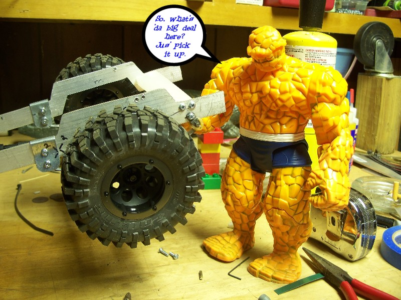 Building an RC sixth scale Jeep 31977648648_bbb2735545_o