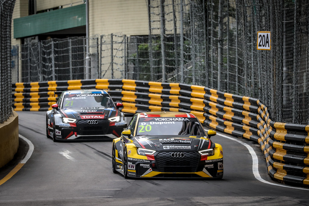 20 DUPONT Denis, (bel), Audi RS3 LMS TCR team Comtoyou Racing, action during the 2018 FIA WTCR World Touring Car cup of Macau, Circuito da Guia, from november  15 to 18 - Photo Alexandre Guillaumot / DPPI