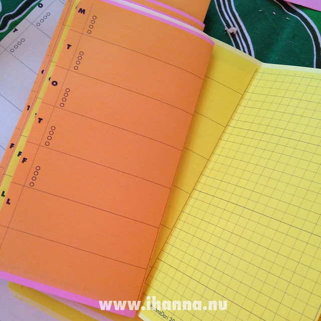 Traveler's Notebook Randomosity vol 2 blank yellow pages