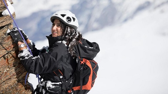 2489 Raha Mouharrak, the first Saudi Woman to climb Mount Everest 03