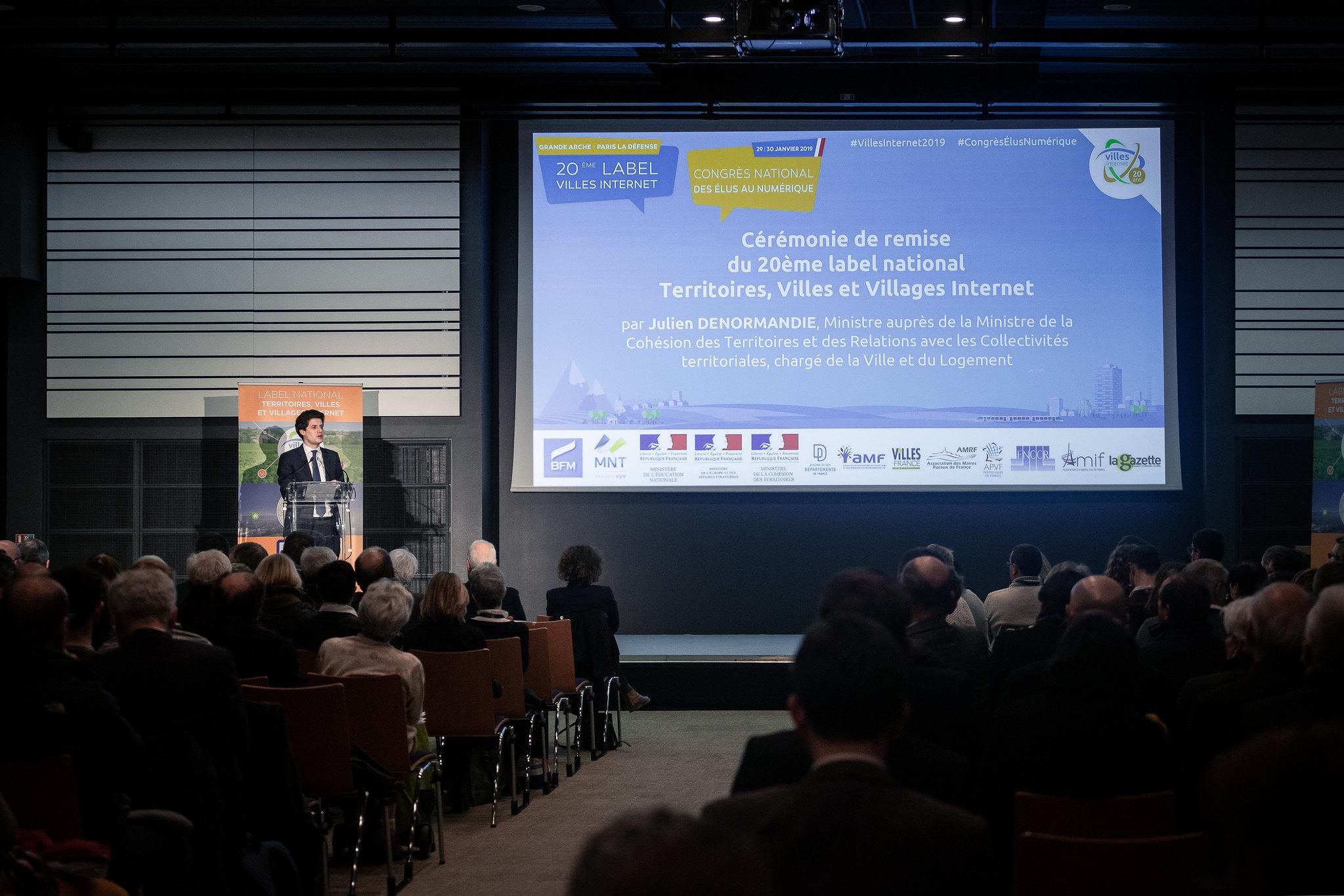 Labels 2019 et congrès des élus numériques