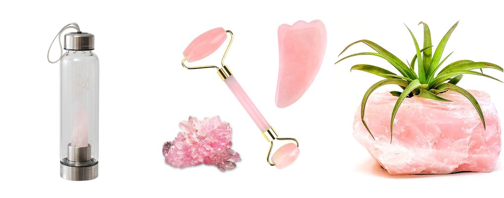 rose quartz home and beauty gifts