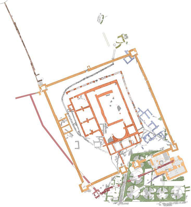 Tel-Beit-Yerah-islamic-palace-plan-td-1