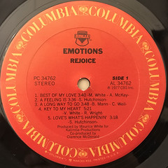 EMOTIONS:REJOICE(LABEL SIDE-A)