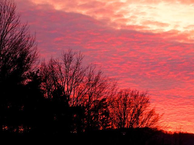 Winter Sunset, Sony DSC-HX50