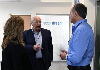 Visit to SodaStream Nov.  2018