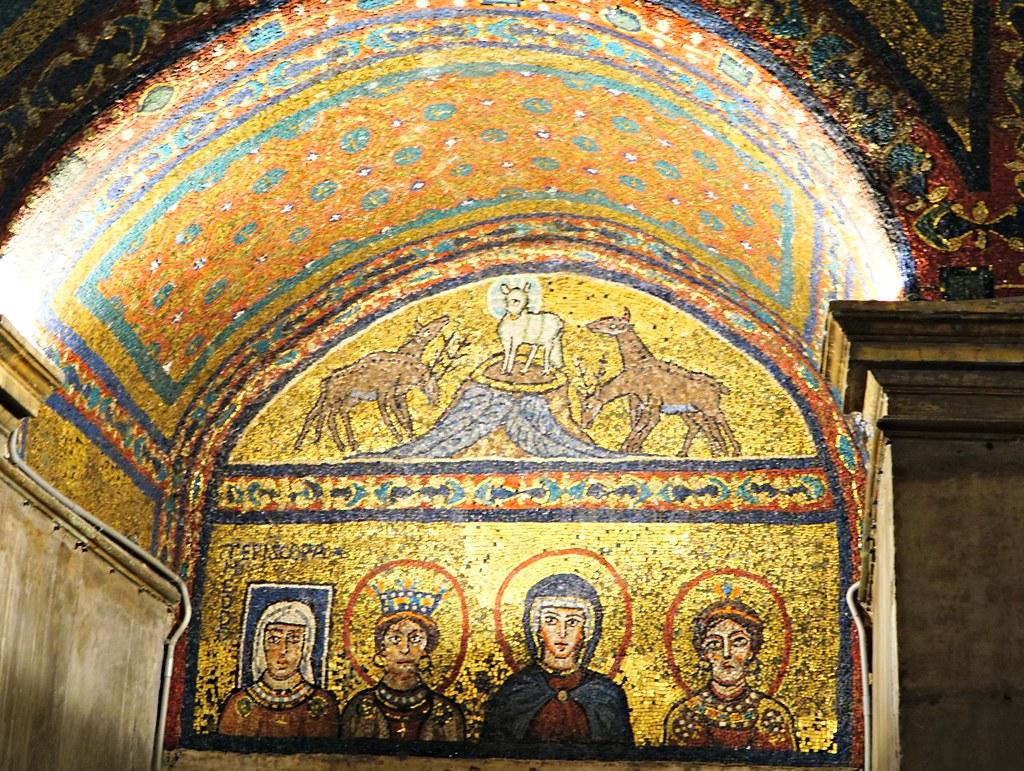 Santa Prasseden bysanttilaisia mosaiikkeja