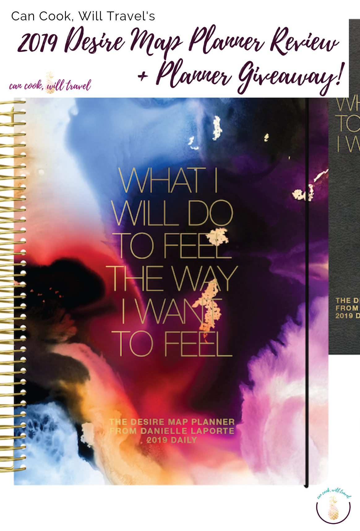 2019 Desire Map Planner Review & Giveaway - Can Cook, Will Travel on