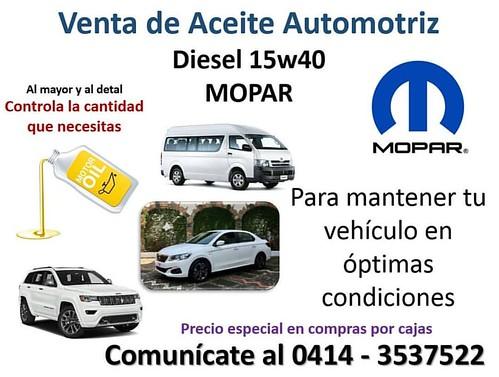 #Aceite #Lubricante #Vehiculos #Motor #Diesel #Mopar #Bqto #AltaTecnologia #UltimaGeneracion #Mecánico