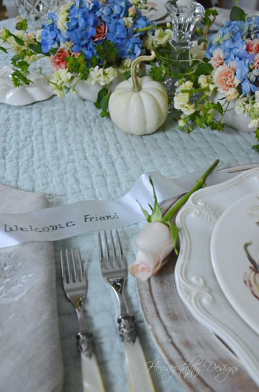 Autumn Tablescape-Houseptality Designs