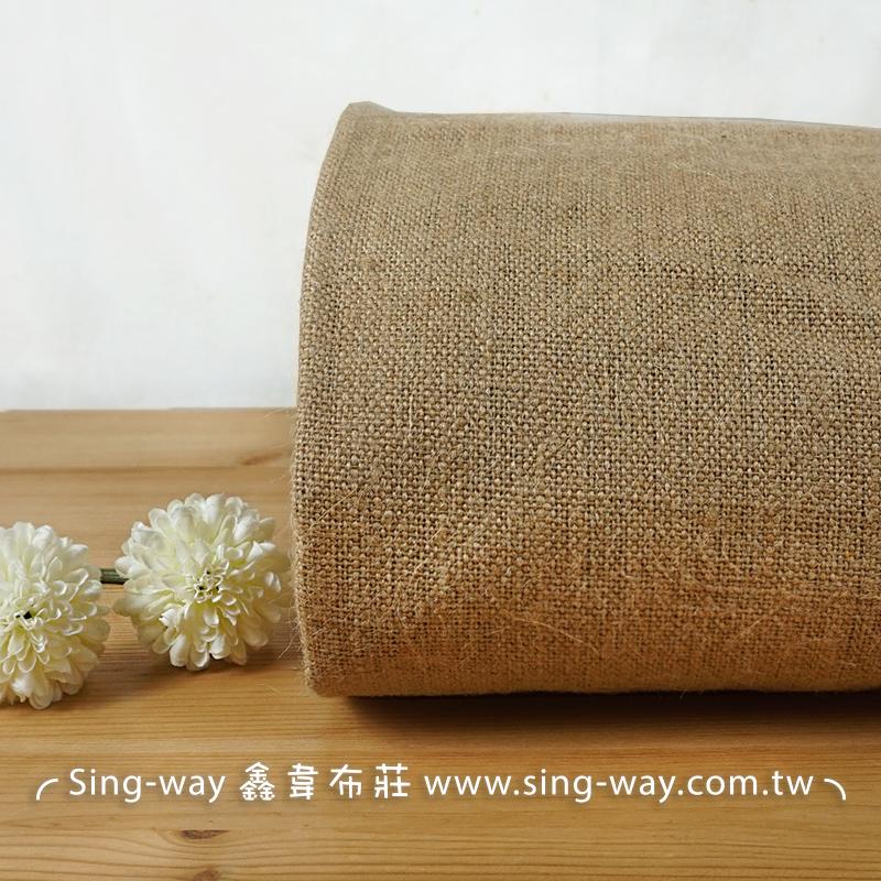 麻布 黃麻布 亞麻 佈置裝飾 手工藝DIY布料 FA690046