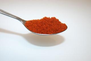 11 - Zutat Paprikapulver / Ingredient paprika