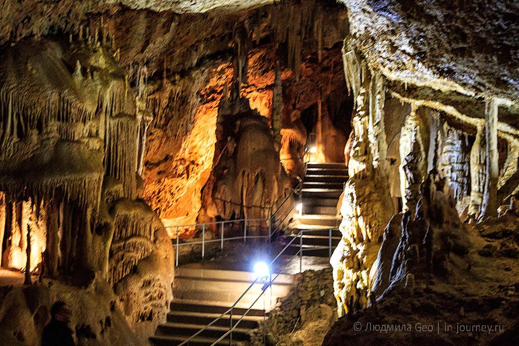 Маршруты по Мраморной пещере в Крыму