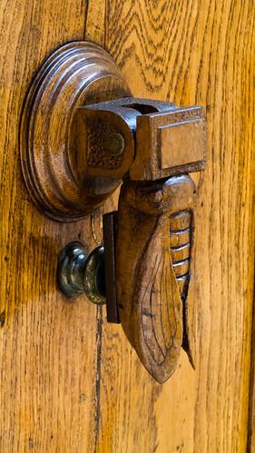 Cicada doorknocker
