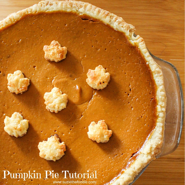 Pumpkin Pie Tutorial by Suzie The Foodie