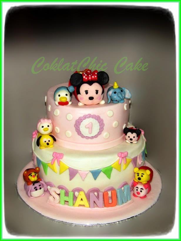 Cake Tsum Tsum SHANUM 20 /12 cm