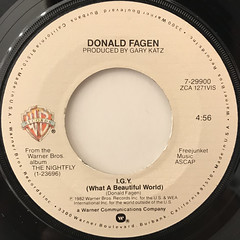 DONALD FAGEN:I.G.Y.(LABEL SIDE-A)