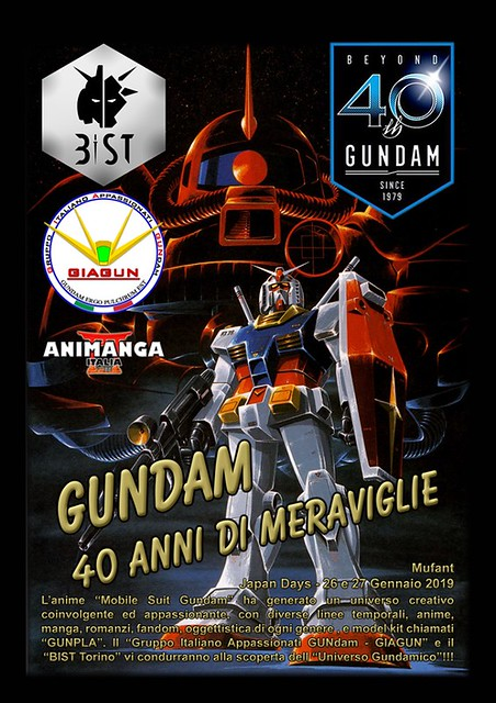 JAPAN DAYS 2019 - 40th Gundam