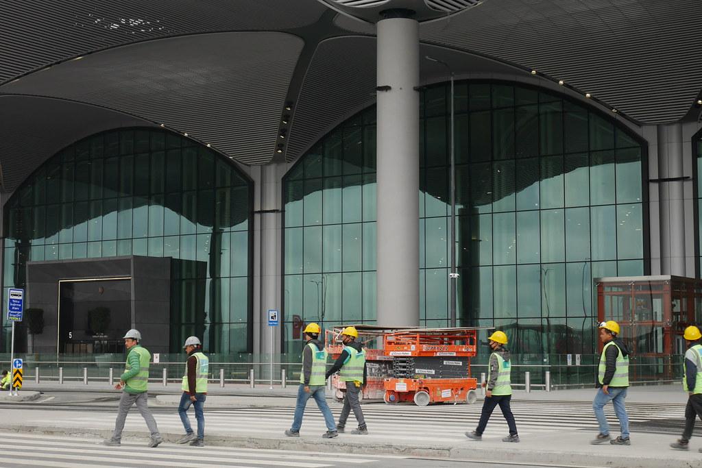 伊斯坦堡新机场-施工中