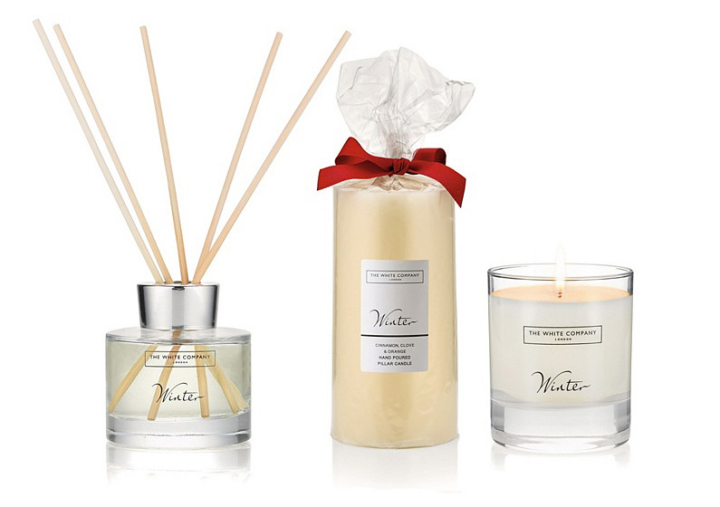 White Company Winter Candle Collection