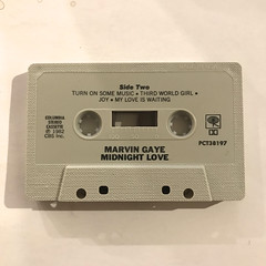 MARVIN GAYE:MIDNIGHT LOVE(CT)(TAPE SIDE-B)