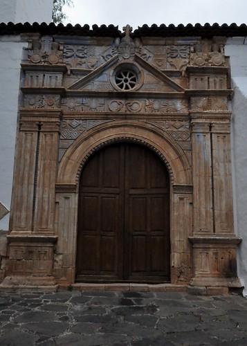 Pájara (Fuerteventura-Canarias-España). Iglesia. Portada