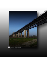 Pont Eiffel Cubzac les Ponts effet 3 D - Photo of Saint-Antoine