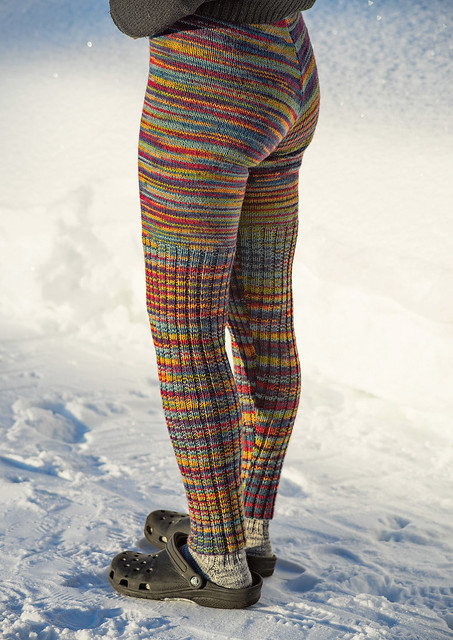 Woolly pants