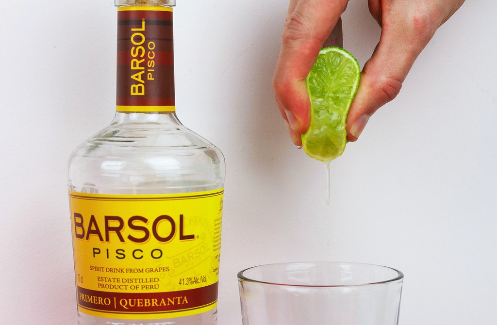 Pisco Sour Lime Squeeze