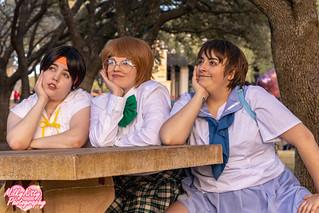 Martha, Momo, & Zizi - Voltron School Girl Group