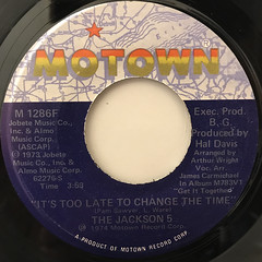 THE JACKSON 5:DANCING MACHINE(LABEL SIDE-B)