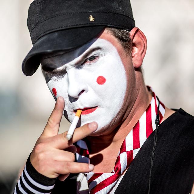 The Smoking Clown