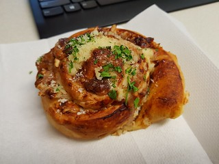Cheese and Vegemite Scroll from Yavanna