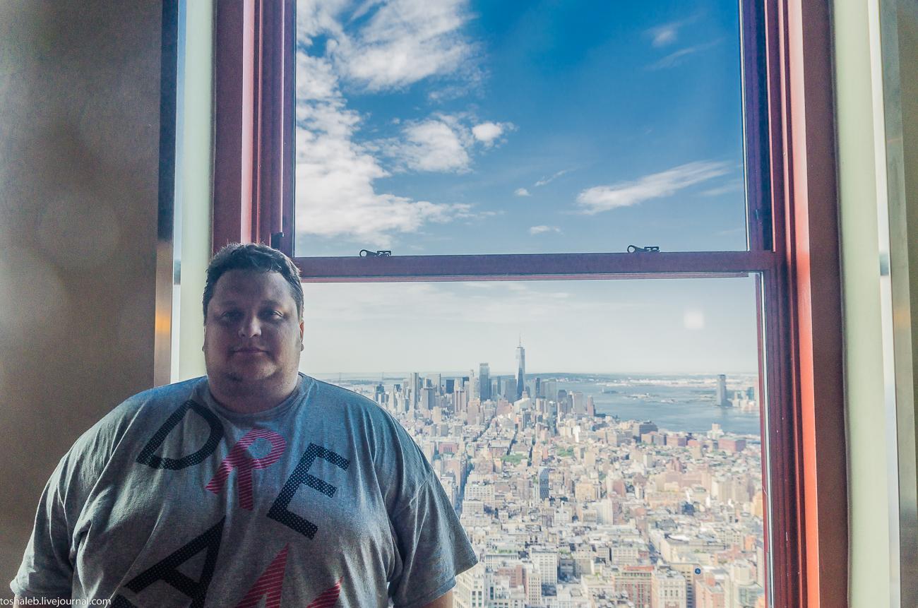 Нью-Йорк_Empire State Building-18