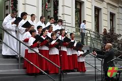"Coral Mater Verbi e Flautistas do Colégio Academiaparticipam do Projeto ""Canta e Encanta"" da Câmara Municipal"