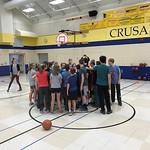 Holy Cross Catholic School 4HG Basketball Clinic-St. Paul, Minnesota