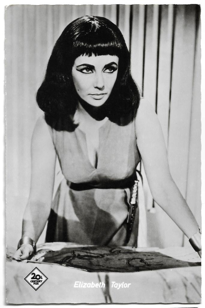 From Flickr Elizabeth Taylor In Cleopatra 1963 By Truus Bob