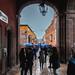 Blue umbrellas por jon5cents ( 5centsphotos.com )