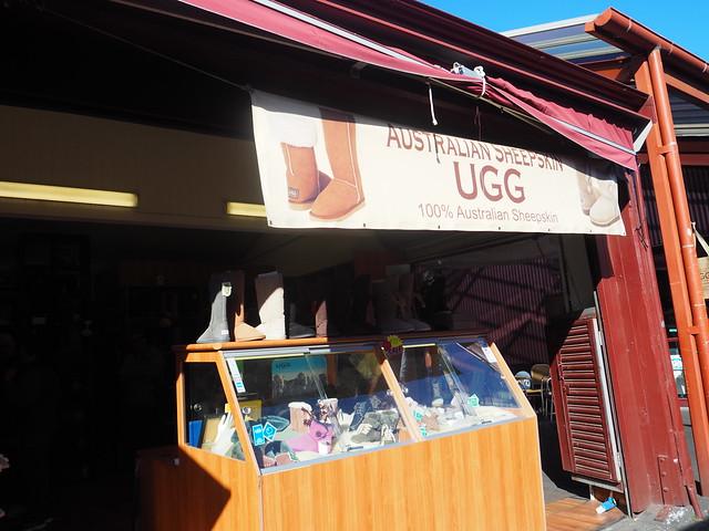 P9089747 クイーンビクトリアマーケット UGG オーストラリア