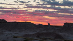 Pink Candy over the Badlands