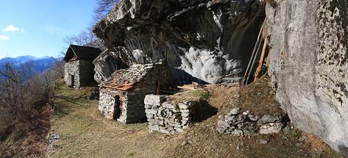 Alpe Taneda, Val Lavizzara, Valle Maggia. Canton Ticino, Svizzera