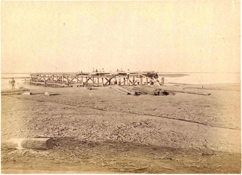 05. Амударья. Мост, левый берег, 30 сентября 1887