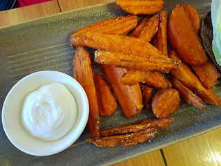 Sweet Potato Fries at VegeRama