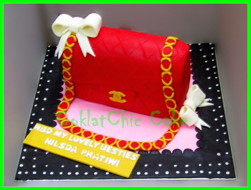 Cake Branded Bag HILSDA 18 cm