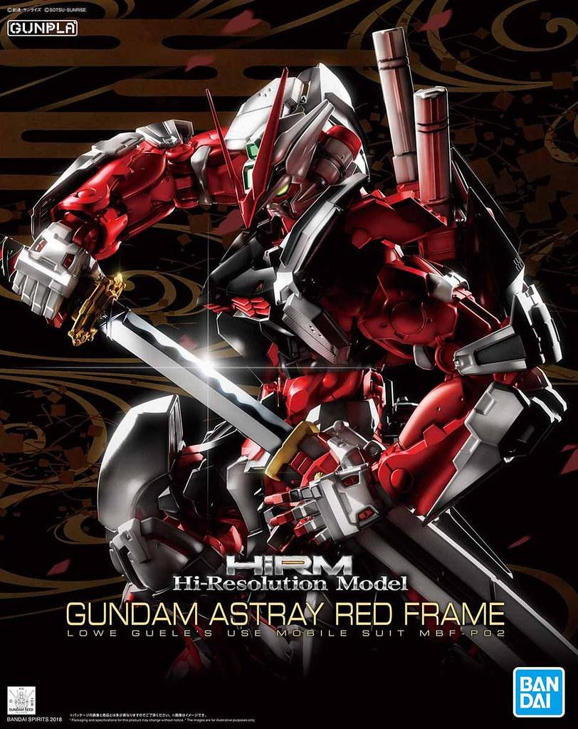 【更新官圖】HiRM 1/100《機動戰士鋼彈SEED ASTRAY》MBF-P02 異端鋼彈紅色機(ガンダムアストレイレッドフレーム)