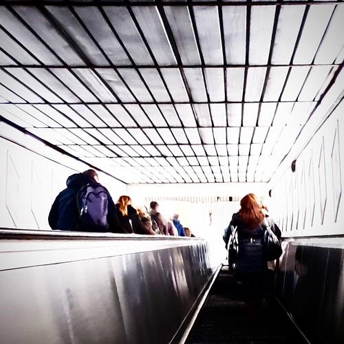Roma: vita da metropolitana