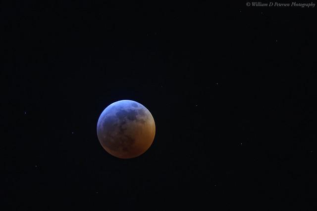 Lunar Eclipse, Nikon D810, AF-S Nikkor 80-400mm f/4.5-5.6G ED VR